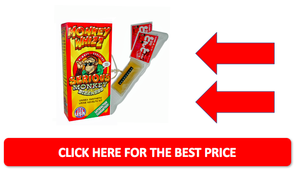 Monkey Whizz bottom sale button