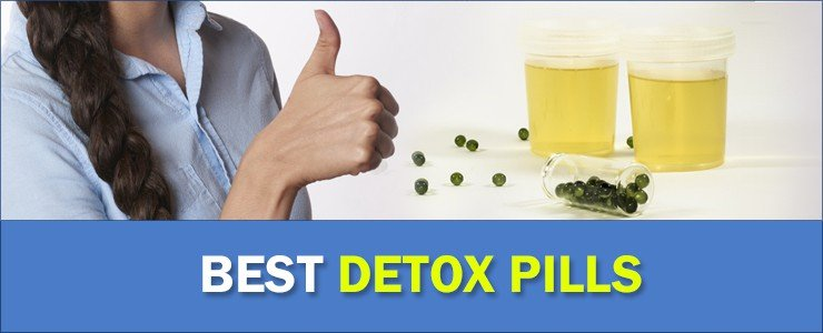thumb up for the best detox pills