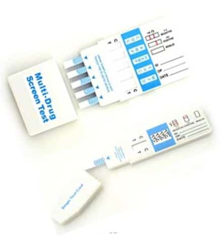 ITG Labs at-home drug testing kit that will search for individual substances.