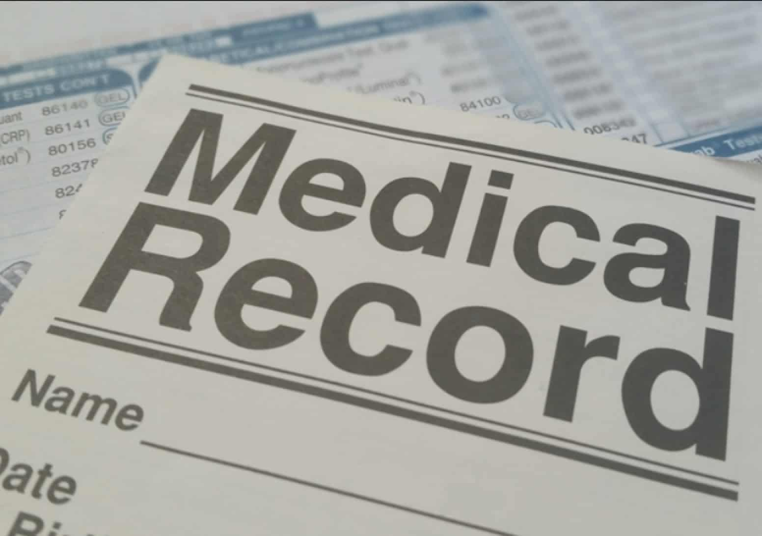medical records results