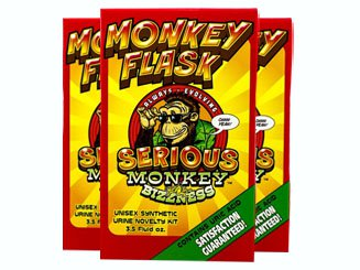 Three Front Monkey Flask Product