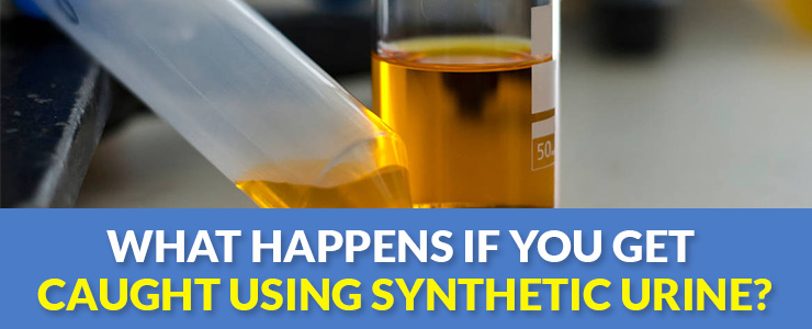 What Happens If You Get Caught Using Synthetic Urine Featured